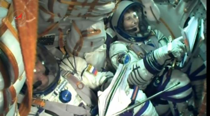 L+200 – Teil 4: Dichtigkeitsprüfung in der Soyuz